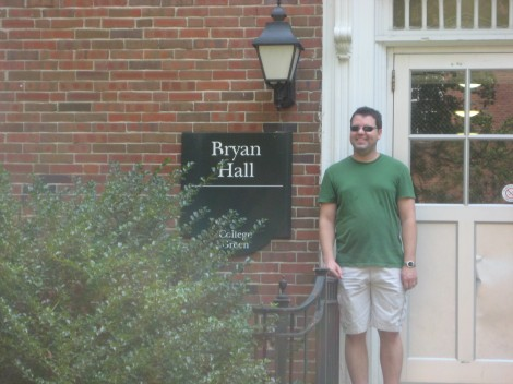 Returning to Bryan Hall 10 Plus Years Later