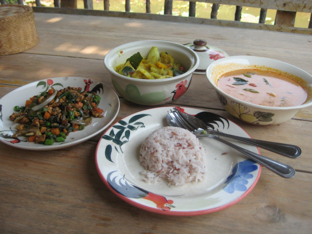 Thai Farm Cooking School - the finished product