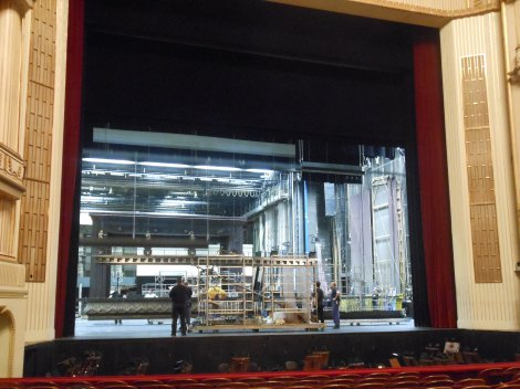 The Stage at the State Opera House