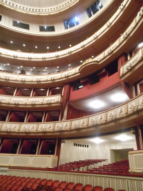 Inside the State Opera House