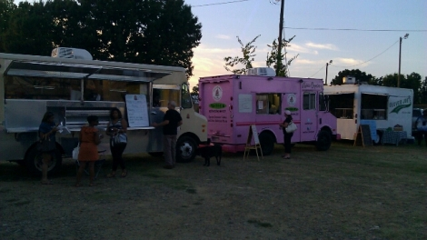 Trucks with Something for Everyone - Burgers, Cupcakes, Tacos, Greek, Italian, Ice Cream