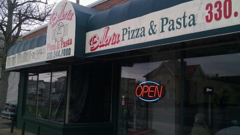 Belleria Pizza and Pasta in Niles, Ohio
