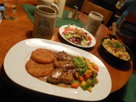 Pork Medallions at Barenwirt