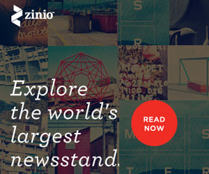 Zinio - An app for reading magazines on the go