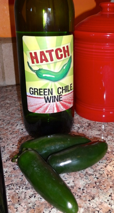 Maybe Some Green Chile Wine?