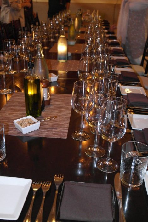 Wine Tasting Dinner at Aria Tuscan Grill