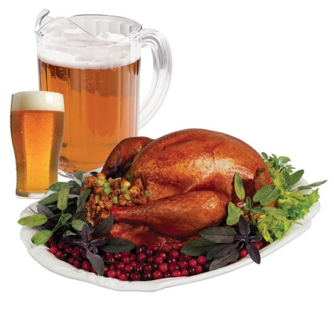 Thanksgiving Dinner Perfect Beer or Wine Pairing
