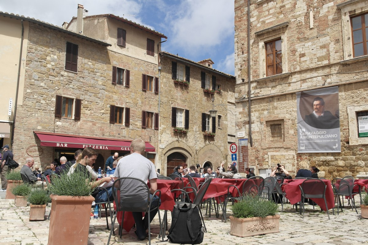 A Walk Through Montepulciano in Pictures