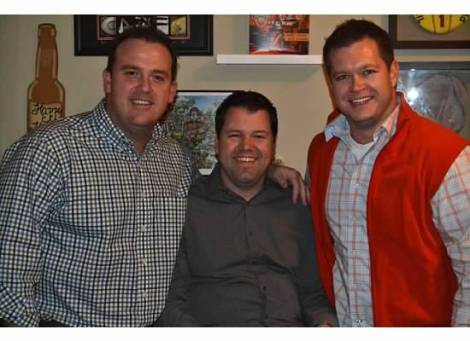 Happy New Year from Charlotte, NC - Brad, Bryan, and Keith