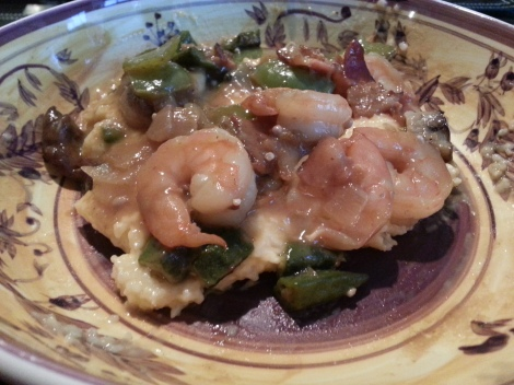 Shrimp and Grits at the Gourmands