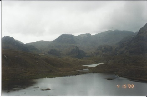 In the Clouds at Cajas National Park