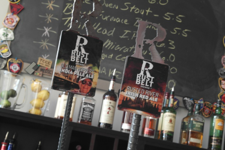 Rust Belt Brewery in Youngstown, Ohio