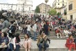 At The Spanish Steps with all of my Closest Friends